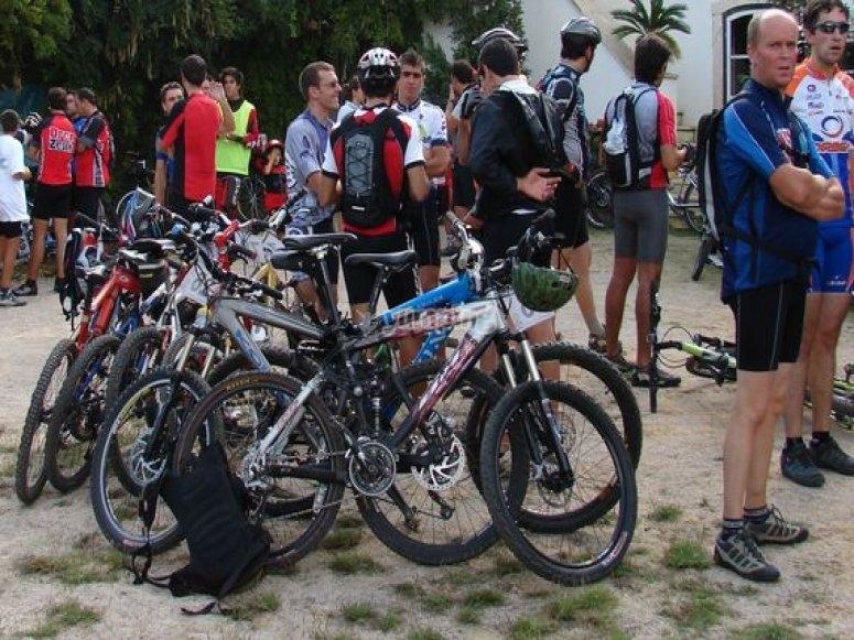 participantes en ruta.