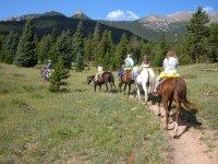 Paseo a caballo por la Sierra de Meira 1h 30 min