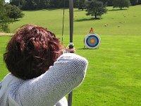 Practicar tiro con arco olímpico en Pastoriza 1h