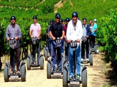 Personalised Segway route in La Rioja