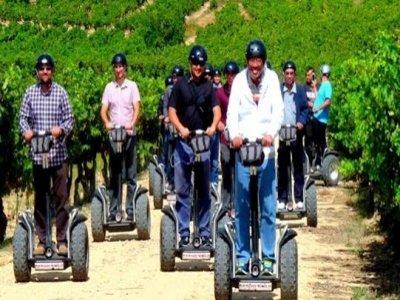 Montar en segway en La Rioja Ruta personalizada