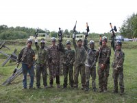 Paintball game, Córdoba, 100 balls