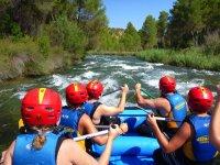 Rafting especial para peques