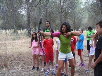 Sesión de tiro con arco en Córdoba 1 hora