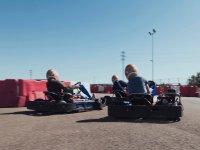 Circuito de karts exterior en Valladolid