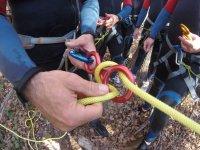 Asegurando la cuerda