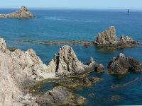 The coast of Almeria