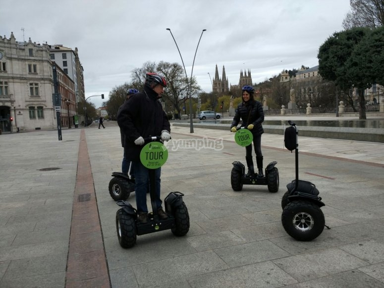 Segway tour in Burgos