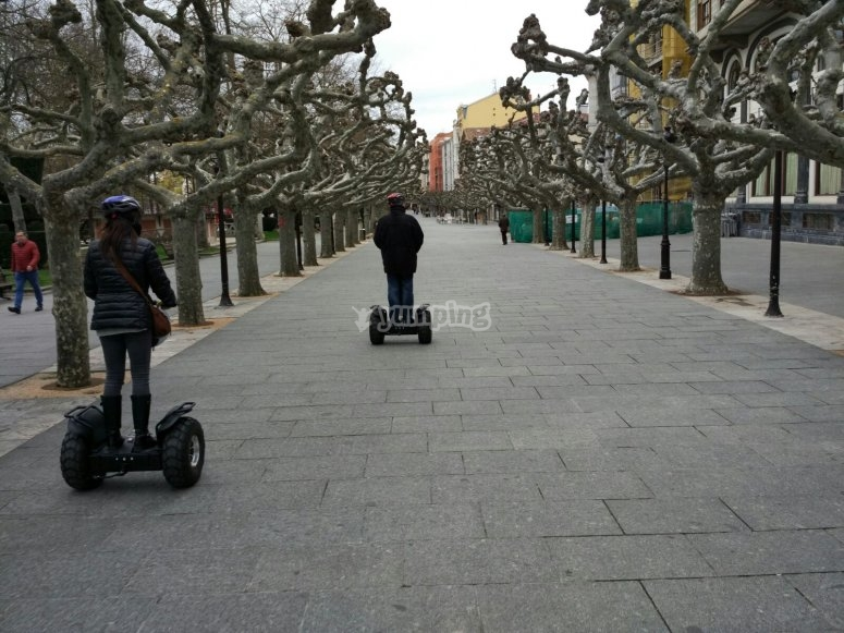 Come ride on the segway