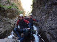 Group of canyoning in Paterna