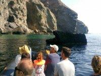 Navegando entre los acantilados almerienses