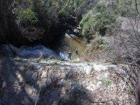 Rapel en el barranco de Paterna