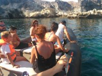 Sightseeing by boat in Las Negras