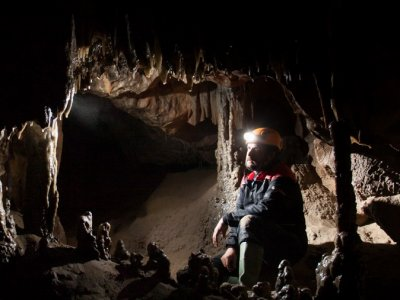 Caving in Aragon's valley