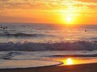 Atardeceres en la playa