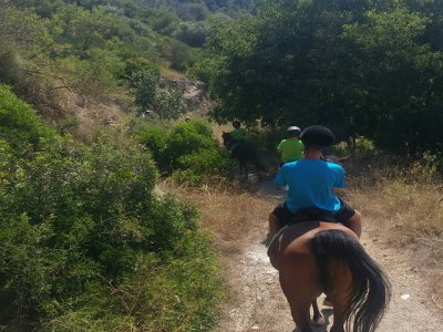 Pony ride in Molins de Rei kids 4 to 8 years old