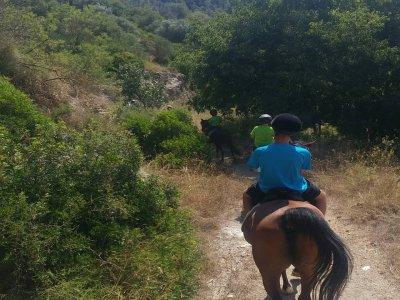 Paseo en pony en Molins de Rei niños de 4 a 8 años
