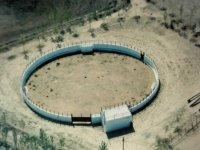 La plaza de toros desde el aire