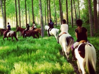 Horse ride around Bernesga river, 2 hours