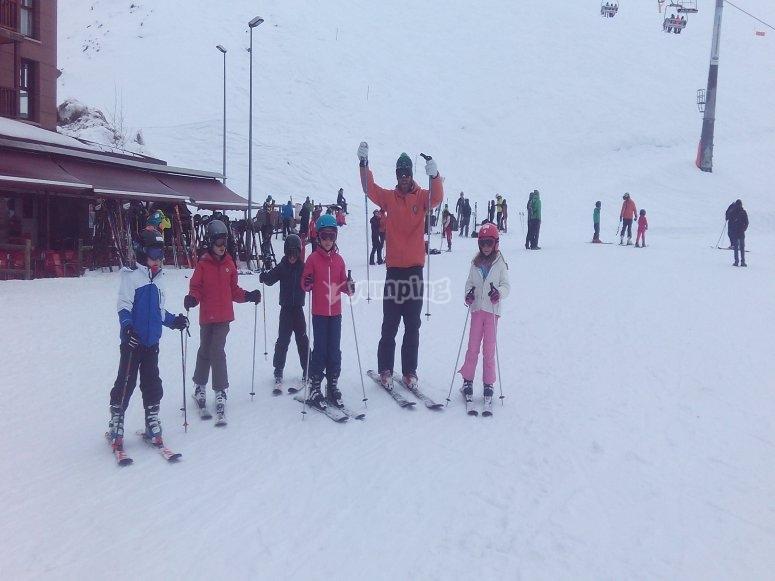 curso esquí de fin de semana