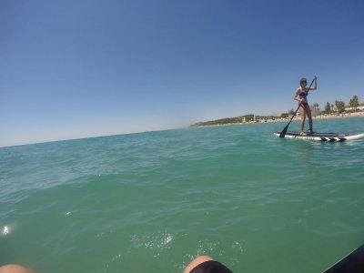 Alquiler material de paddle surf en Altafulla 1h