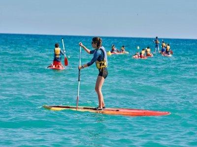 Paddle surf equipment rental in Altafulla 2h