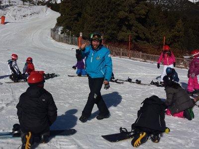 La Coma滑雪板课程1小时旺季