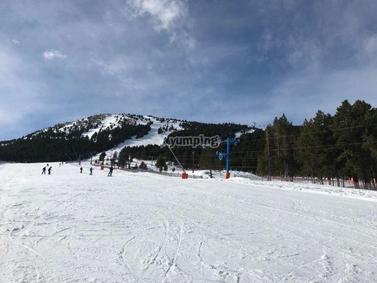 Pistas de esquí Port del Comte
