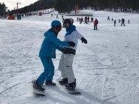 Port del Comte滑雪板课程1h淡季