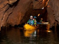 Kayaking inside the cave