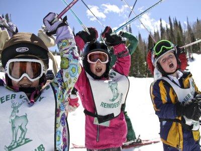 Entrenarse en esquí Astún 10 clases Niños 7 a 12