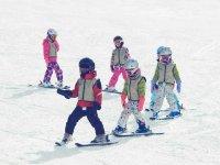 Entrenamiento esquí infantil Astún 20 lecciones