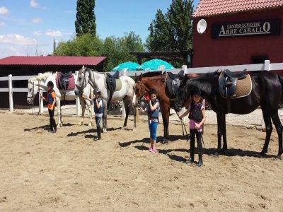 Clases de equitación Los Ángeles de San Rafael