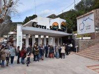 Acceso a Coves de Sant Josep