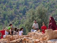 Visitando el poblado Ibero
