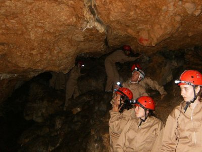 Speleology in Sierra de Mariola BOcairent