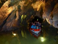 Sailing in the cave