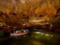 Navigable underground river