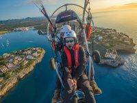 Sobre la isla de Mallorca en paratrike
