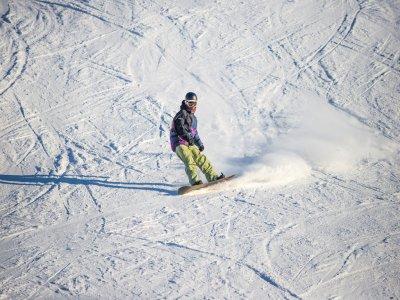 Clase de snowboard grupo Espot 2 horas