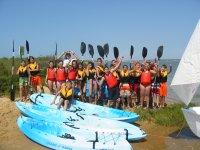 Giornata nautica per scolari a El Rompido