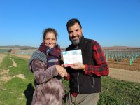 Delivery of the balloon flight diploma