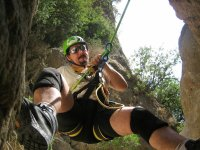 Rappel lessons for canyoning in Sevilla 2 hours