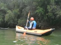 Kayak por detrás