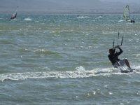 风筝冲浪下午