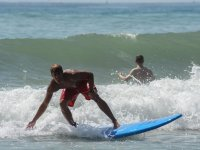 Surfista en Fuengirola