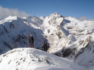 Curso alpinismo El Pont de Suert puente diciembre