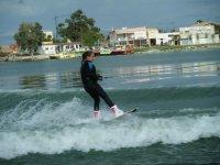 Empezando con esquí acuatico