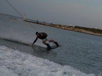 Rozando las olas