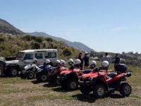 Disfrutando de Andalucía desde los quads